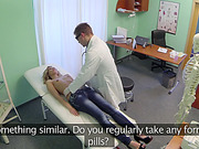 Hot Tracy sucks and fucks the doctor