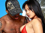 Filipina Lana Violet's Twat Stretched By Black Dick!