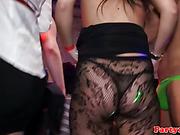 Real amateur euro sluts fuck strippers