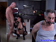 Real dominant housewife gets fucked