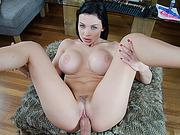 Horny hot Aletta Ocean sucking cock