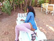Anjel Devine is a slutty and horny black mom