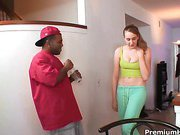 Black dick training for Amy Valor
