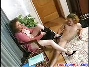 Mature BBW teacher seduce teen