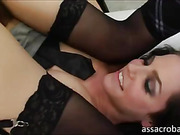 Bobbi Starr ass toying with her student