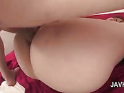 Naked asian slut getting her tiny butt hole drilled hard