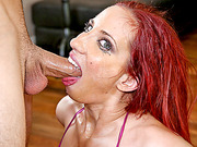 Cock sucking bitch Kelly Divine blowjobs