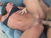 Horny MILF Sky Taylor in a bikini and getting fucked
